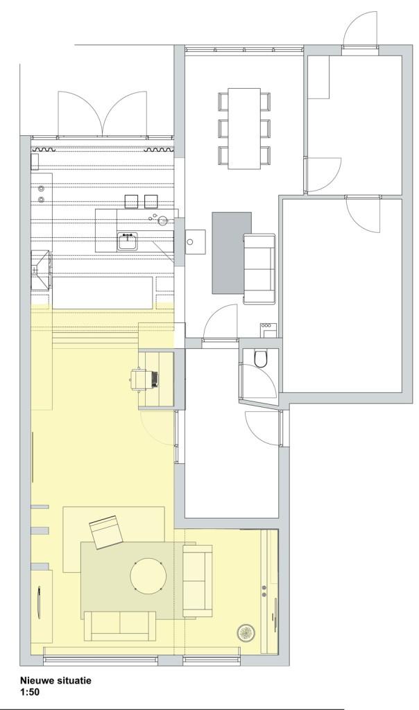 Hoe richt je een l vormige kamer in doret schulkes for Z vormige woonkamer inrichten