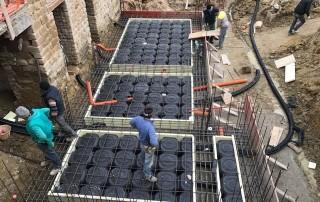 aardbevingsbestendige aanbouw vakantiewoning Italië