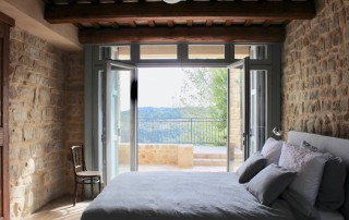 slaapkamer vakantiewoning Italië